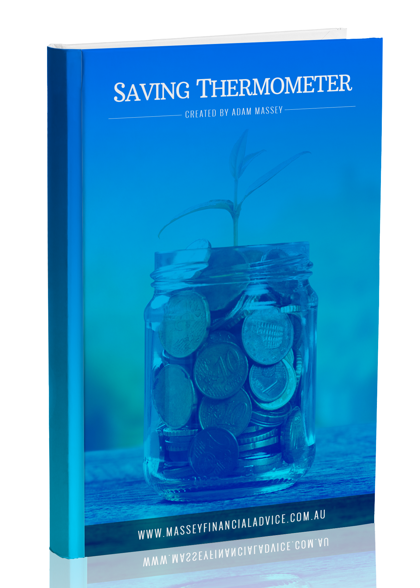 Financial Savings Thermometer