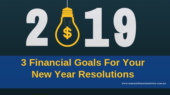 3 Financial Goals For Your New Year Resolutions [VIDEO]
