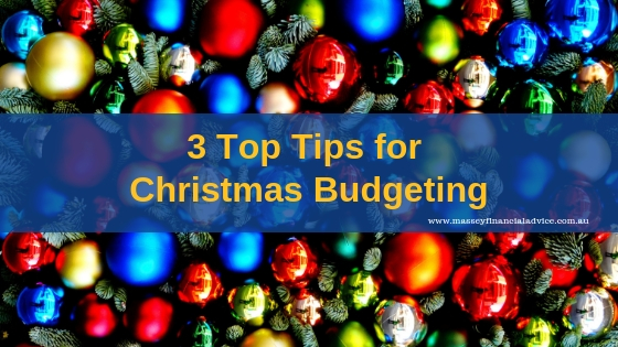 3 Top Tips for Christmas Budgeting